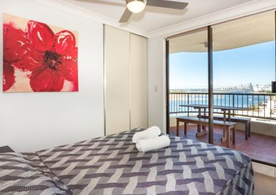 Broadwater Accommodation Bedroom