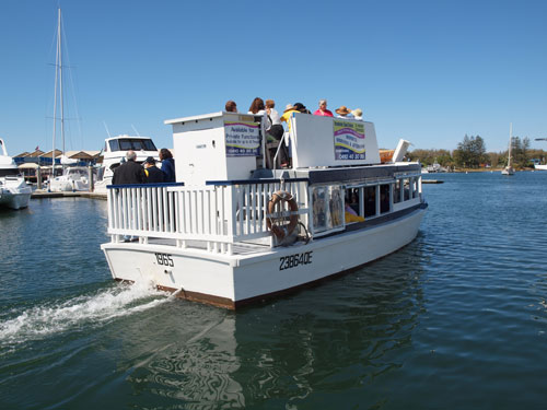Enjoy a Broadwater Canal Cruise