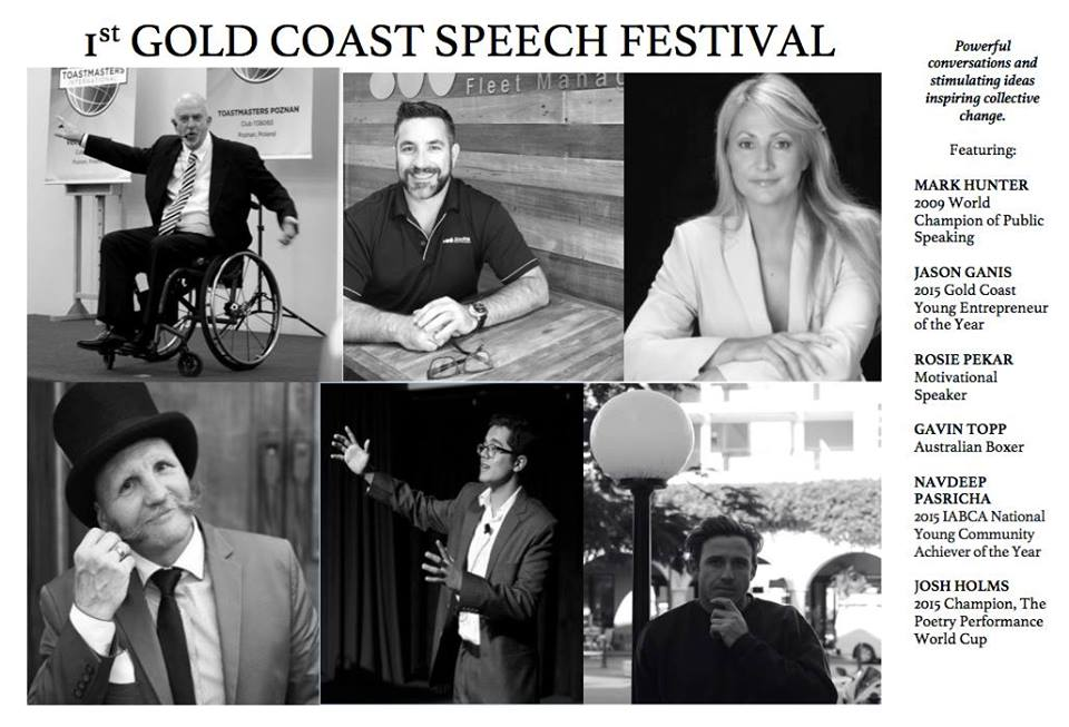 Be Part of History with the First-Ever Gold Coast Speech Festival