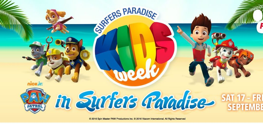 Time for a Splendid Kids Week on Surfers Paradise!
