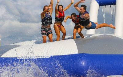 Don't Miss Gold Coast Aqua Park This Easter | Southport Broadwater