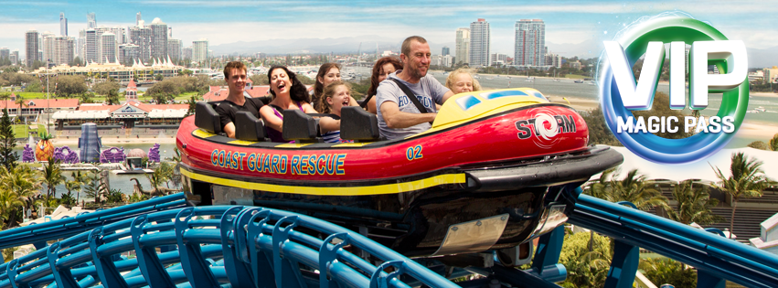 Score 7-Day Gold Coast Theme Park Passes for Less!