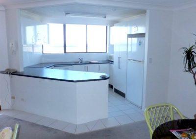 Broadwater Accommodation Kitchen